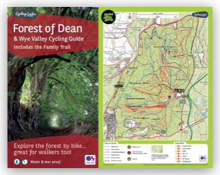 Forest of Dean & Wye Valley Cycling Guide + Mountain Bike Routes Map