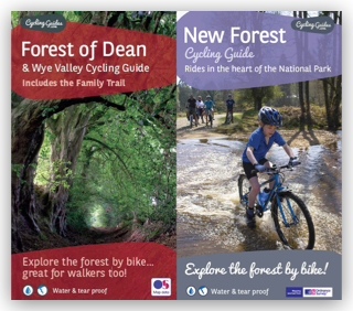 New Forest and Forest of Dean Cycling Guides